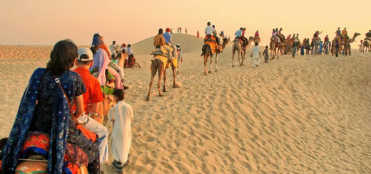 The Golden city and its Famous Desert Safari