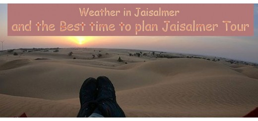 Weather in Jaisalmer and the best time to plan Jaisalmer Tour