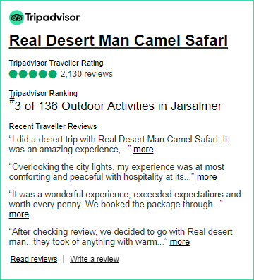 Real Desert Man Safari