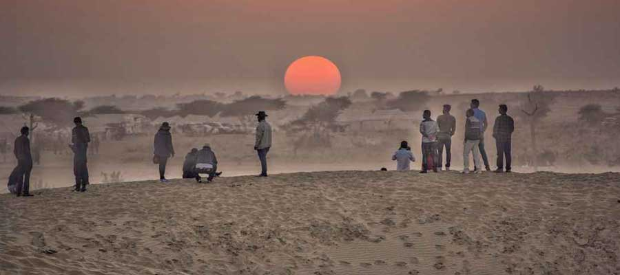 sun-set-in-jaisalmer